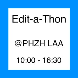 Icon zur Veranstatlung Edit-a-Thon