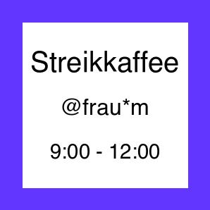 Icon zur Veranstaltung Streikkaffee