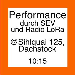 Icon zur Performance von SEV und Radio LoRa