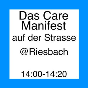 Icon zur Veranstaltung Care Manifest auf der Strasse