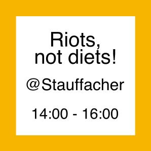 Icon zur Aktion Riots not Diets