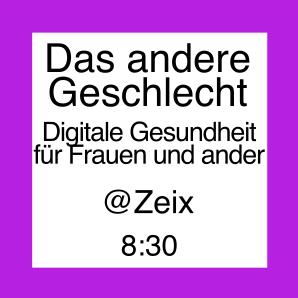 Icon zur Veranstaltung von Zeix, Das andere Geschlecht, Digitale Gesundheit für Frauen und andere