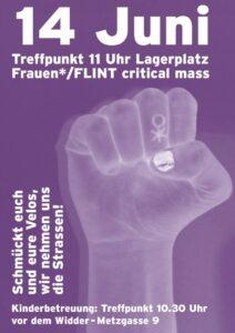 Frauen*/FLINT Critical Mass @ Lagerplatz