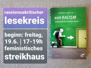 Rassismuskritischer Lesekreis @ Streikhaus