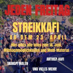 Streikkafi @ Streikhaus