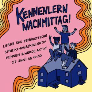 Kennenlern-Nachmittag @ Feministisches Streikhaus