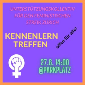 Unterstützungskollektiv offenes Kennenlerntreffen @ ParkPlatz
