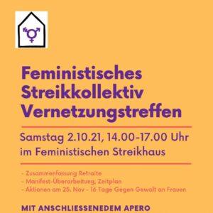 Vernetzungstreffen Feministisches Streikkollektiv Zürich